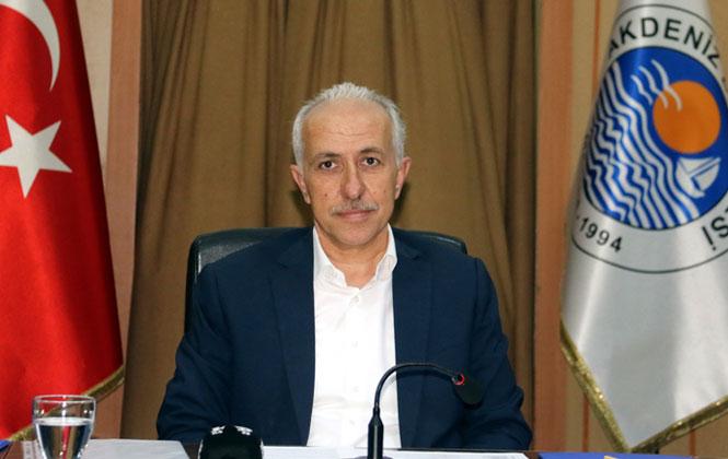 Akdeniz Belediye Başkanı Gültak'tan 19 Mayıs Mesajı