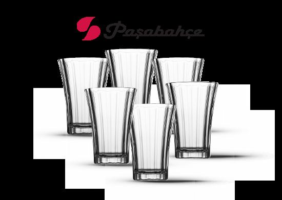 Diamond 6'lı Kahve Yanı Su Bardağı