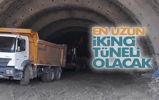 Mersin Anamur İle Antalya Gazipaşa Arasındaki Tünel İnşaatı Tamamlandığında, Anamur - Gazipaşa 35 Dakikaya İnecek