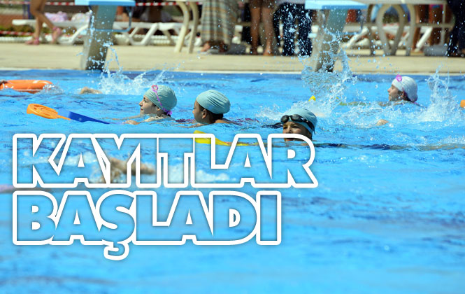 """Mersin'de Yüzme Kursu Kayıtları Başladı, Büyükşehir """"Yüzme""""ye Çağırıyor"""