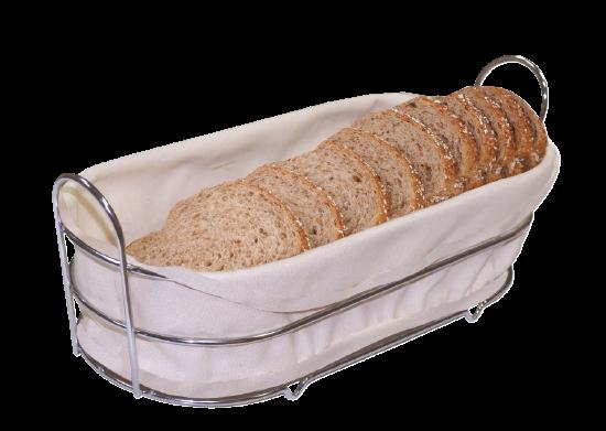 Kumaşlı Metal Ekmek Sepeti