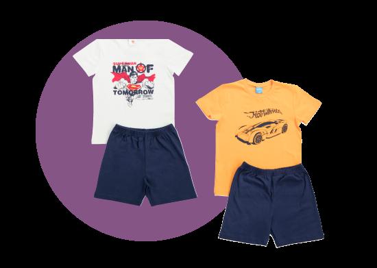 Şort-Tişört Takımı Çocuk