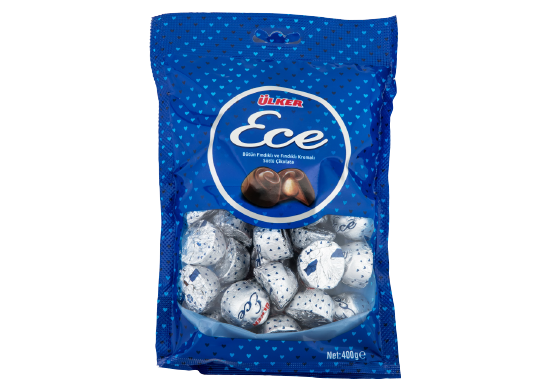 Bütün Fındıklı Sütlü Çikolata Ülker Ece 400 g