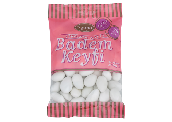 Çikolata Kaplı Badem Draje Buono 200 g