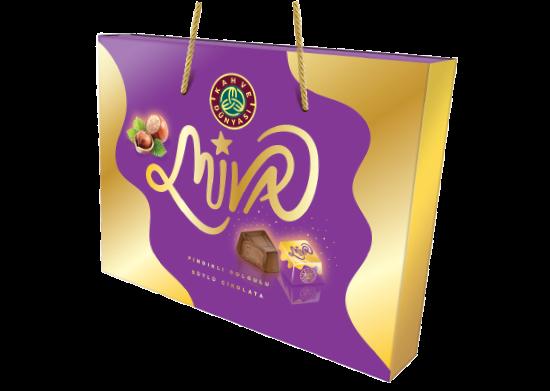 Fındık Dolgulu Sütlü Çikolata Kahve Dünyası Miva 215 g