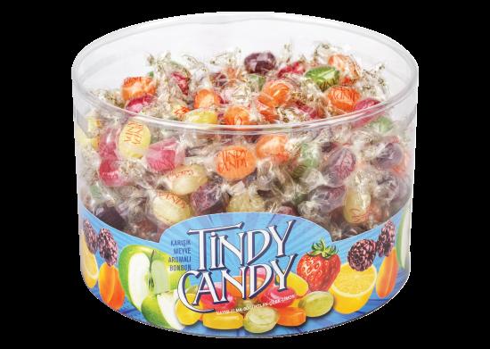 Karışık Meyve Aromalı Bonbon Şeker Tindy Candy 700 g