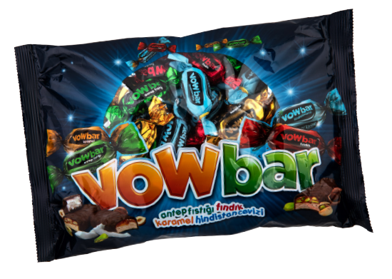 Mini Çikolata Bar Vow Bar 500 g
