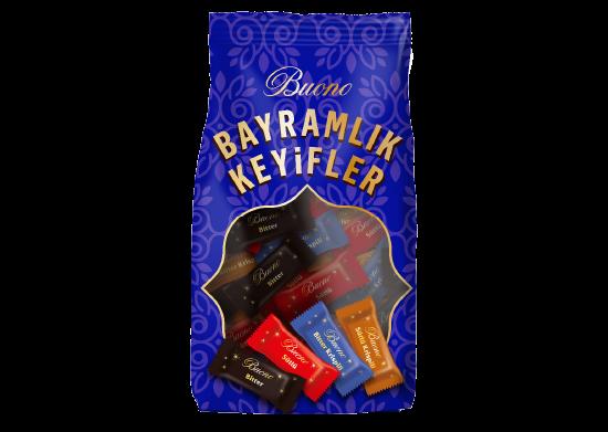 Sütlü - Bitter Krispili - Mini Çikolata Buono 300 g