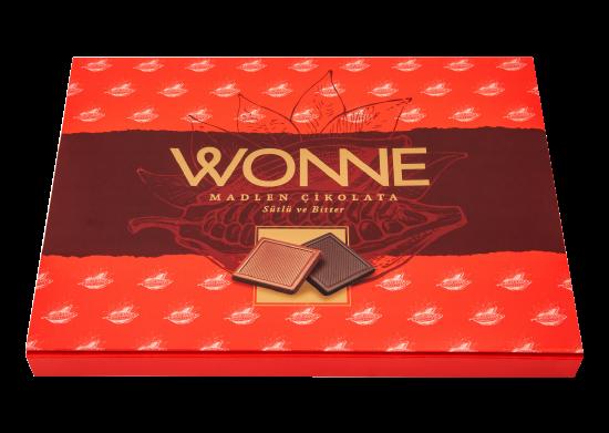 Sütlü-Bitter Madlen Çikolata Wonne 288 g