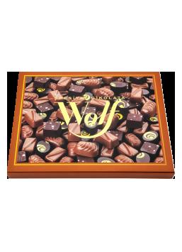 Sütlü-Bitter Spesiyal Çikolata Wolf 265 g