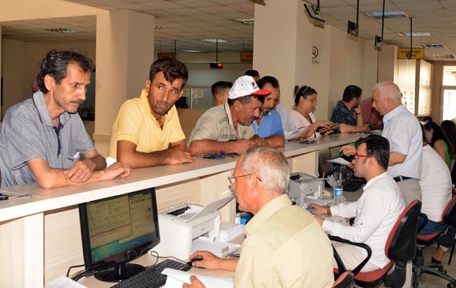 Akdeniz Belediyesi Vezneleri Vergi Ödemeleri İçin Hafta Sonunda da Açık Olacak