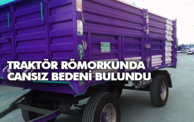 Mersin Tarsus'ta Tarlada Bekçilik Yapan Şahsın, Cansız Bedeni Bulundu