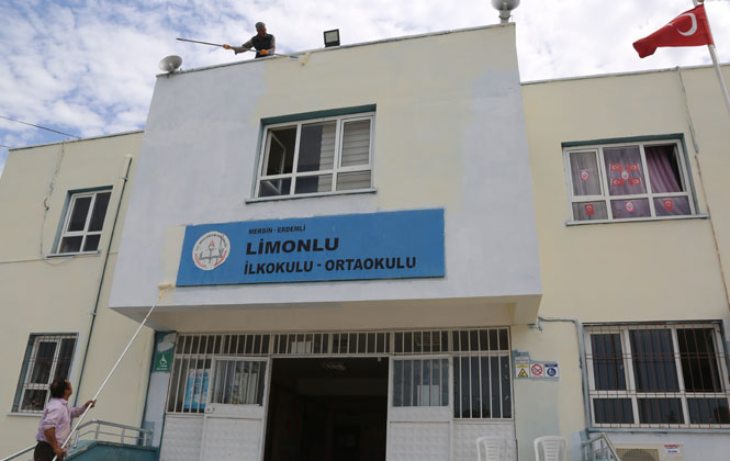Erdemli Belediyesin'den Limonlu'ya da Eğitim Desteği