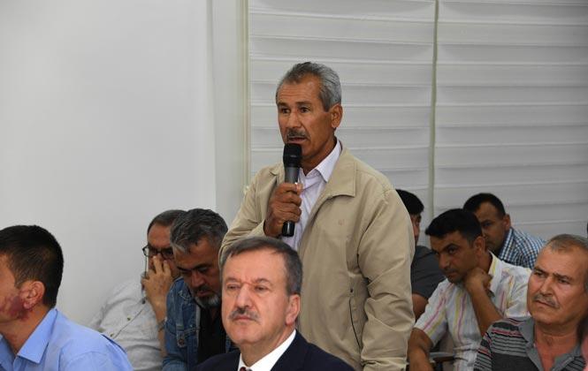 Mersin Bozyazı'daki İftarda, Muhtarlar ve Sivil Toplum Kuruluşları Temsilcilerine Mikrofon Uzatılarak Yaşanılan Sıkıntılar Dinlendi
