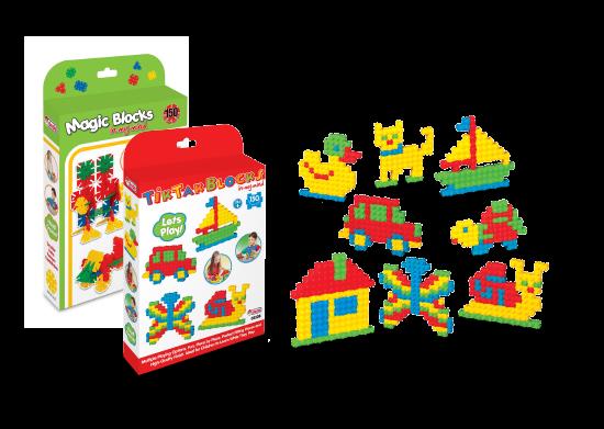 Mini Blok Oyuncaklar