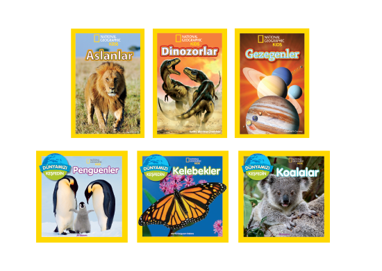 National Geographic Kitap Serisi