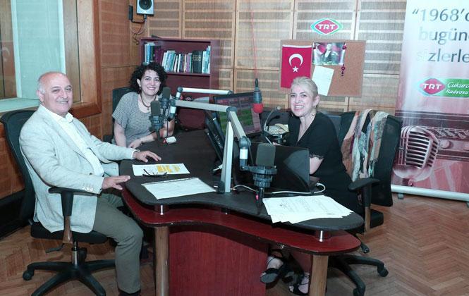 TRT Çukurova Radyosu Akdeniz'den Toroslar'a Programının Canlı Yayın Konuğu Kızıltan Oldu