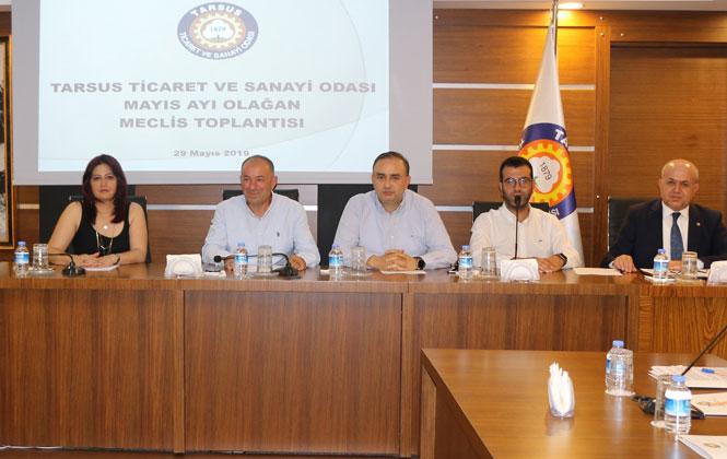 Tarsus TSO Mayıs Ayı Meclis Toplantısı Yapıldı