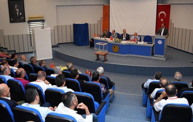 Başkan Seçer Mersin Tarsus Organize Sanayi Bölgesi Genel Kuruluna Katıldı