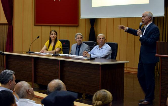 Konseyin 11'inci Seçimli Genel Kurulu Yapıldı, Akdeniz Kent Konseyi'nde Yeni Başkan Mustafa Erim Oldu