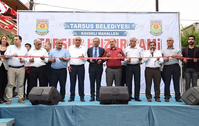 Tarsus Huzur Cami İbadete Açıldı