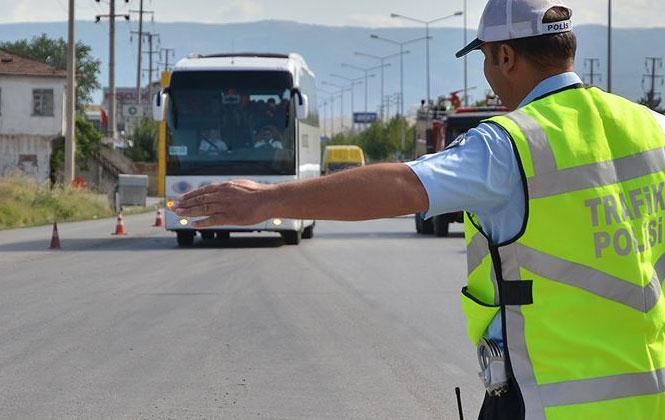 Bayram Tatilinde Mersin'de Trafik Denetimleri Yoğunlaşacak