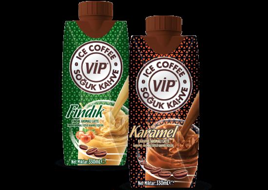 Fındık/ Karamel Aromalı Sütlü Soğuk Kahve VİP 330 ml