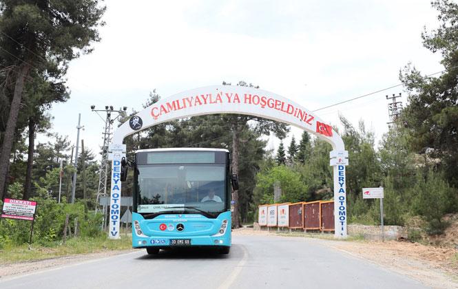 Tarsus- Çamlıyayla Arası İlk Otobüs Seferi Büyükşehir'den