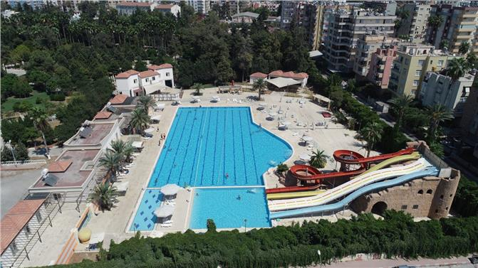 Mersin Tarsus'ta Bulunan Su Parkı, Bayramın 3. Günü Ücretsiz
