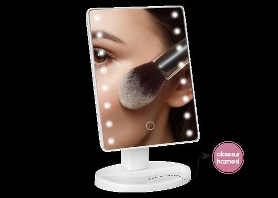 Led Işıklı Makyaj Aynası