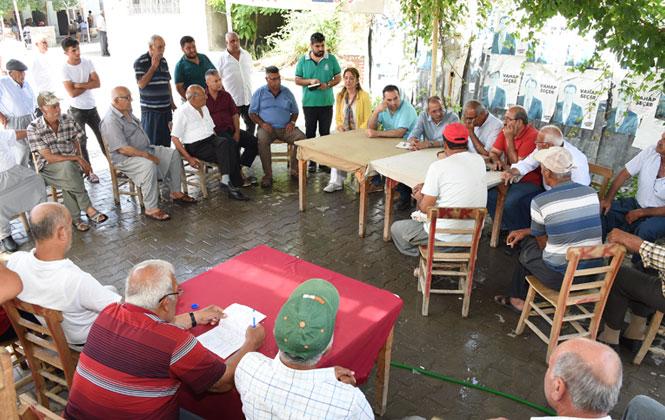 Tarsus Belediye Başkanı Bozdoğan 1 Günde 40 Köyün Sorunlarını Dinledi