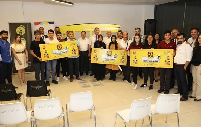 Mersin'de Liseli Gençlerin Girişimcilik Fikirleri Ödüllendirildi