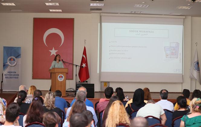 Mersin Büyükşehir'den Sertifikalı Hijyen Eğitimi