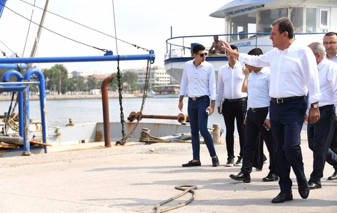 Başkan Seçer Atıl Vaziyette Olan Deniz Park'ta İncelemelerde Bulundu