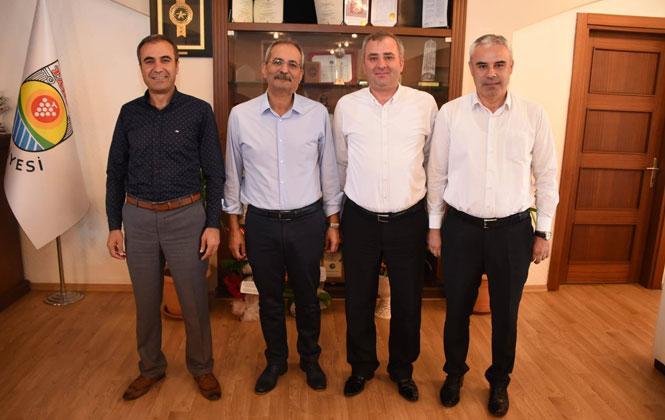 Kurum Müdürlerden Başkan Bozdoğan'a Ziyaret