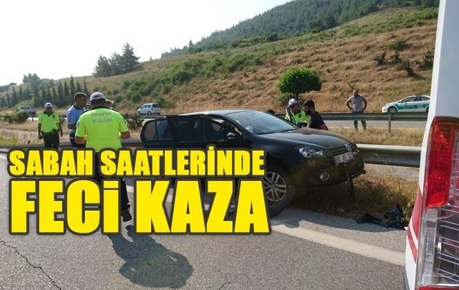 Tarsus - Mersin Otoyolunda, Askeri Personelin İçinde Bulunduğu Sivil Araç Kaza Yaptı: 2 Ölü, 1 Yaralı