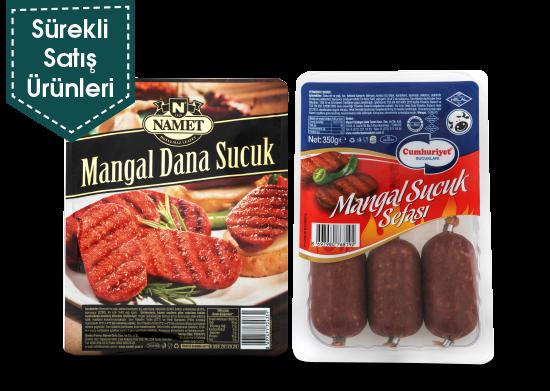 Fermente Mangal Sucuk Namet/ Cumhuriyet 350 gr