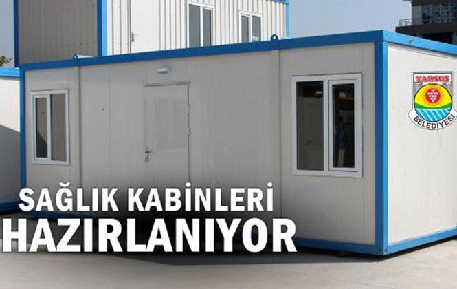 Seçim Döneminde Vaat Edilen Kırsal Mahallelere Sağlık Kabinleri Projesi İçin, Tarsus'ta Çalışmalar Başlatıldı