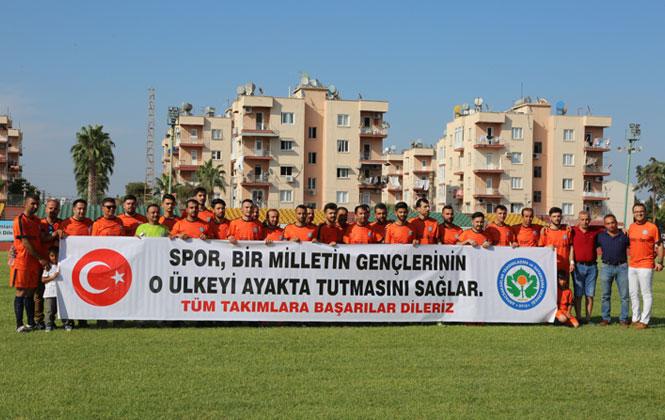 Mersin'in Toroslar İlçesinde Düzenlenen Köyler Arası Futbol Turnuvası'nda Dostluk Hakim Oldu