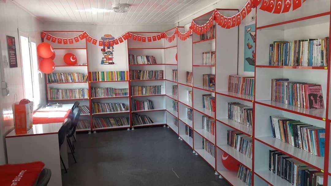 1996 Yılında Kuzey Irak'ta Şehit Edilen Tarsuslu Piyade Komando Er Serdar Koyuncu Adına Memleketinden Yüzlerce KM Ötede Adına Kütüphane Açıldı