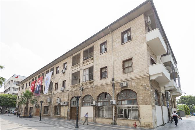 Taş Bina Kent Müzesi Haline Dönüşecek! Mersin, Müzeler Kenti Oluyor