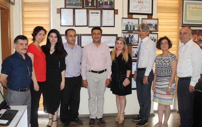 Tarsus Ticaret Borsasından, Ceyhan Borsa'ya Ziyaret
