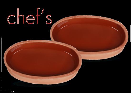2'li Oval Güveç Chef's