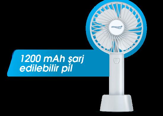 Mini El Fanı Kablosuz