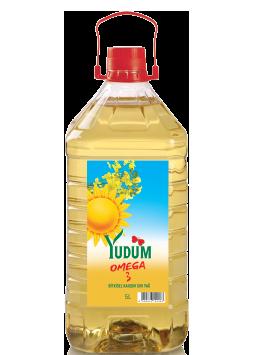 Bitkisel Karışım Sıvı Yağ Yudum Omega 3 - 5 L