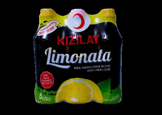 Limonata Kızılay 6x250 ml