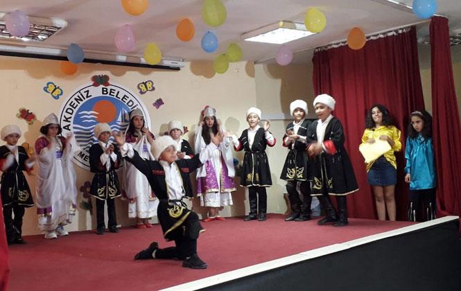 Akdeniz Belediyesi Mahalle Evlerinde Tiyatro ve Halk Oyunu Kursları Başladı