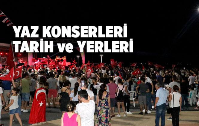 Mersin'de Yaz Konserleri Başladı