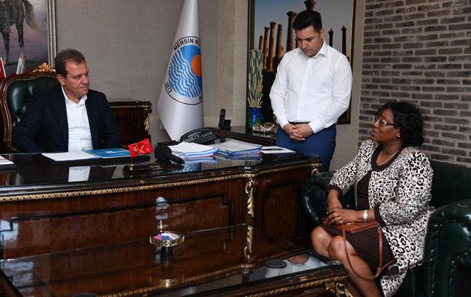 Tanzanya Büyükelçisi Kiondo'dan Başkan Seçer'e Ziyaret