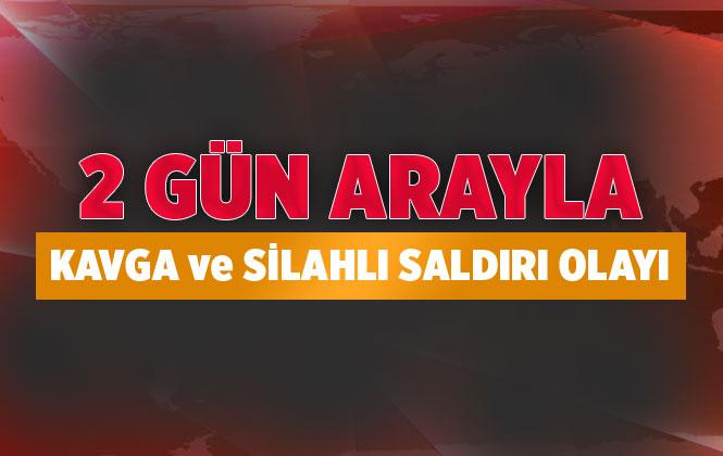Mersin Tarsus'ta Yine Silahlı Saldırı, Çevredeki İş Yerleri De İsabet Aldı